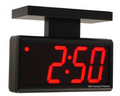 """DuraTime double sided 4 Digit, 4.0"""" Red LED Digital Clock. Available in RED, GREEN and Blue LED. Contact us for advice and prices."""