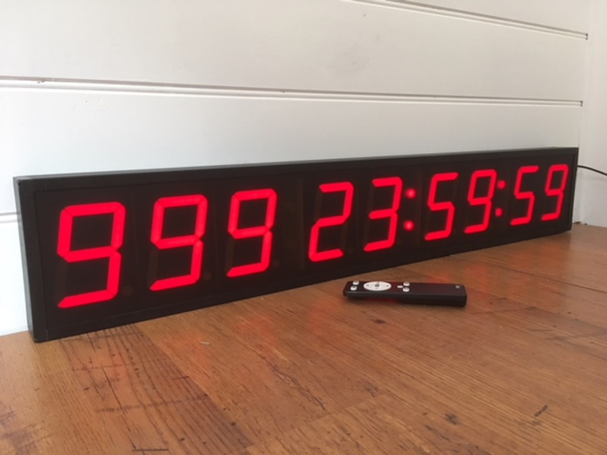 New 999 Day Count Down Timer In Stock The Sydney Clock