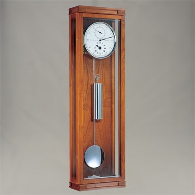 Wall Clock - 30 Day Regulator - Cherrywood Finish - Hermle