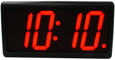 "BRG HP440R High Precision Stand  Alone Clock. 4 x 4"" high LED Numerals. Available in RED,BLUE or GREEN LED. Please call or email us for a quote."