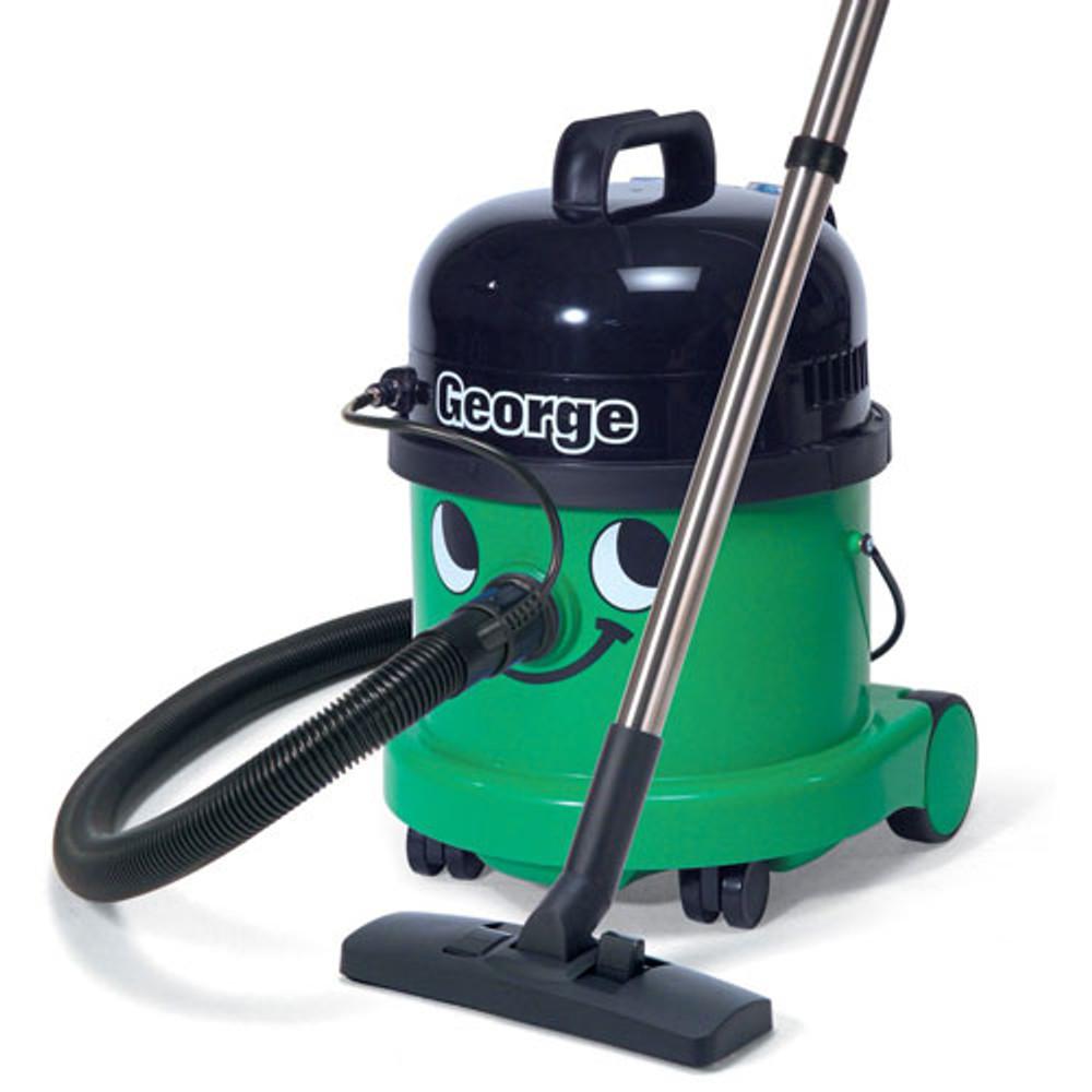 George setup to vacuum