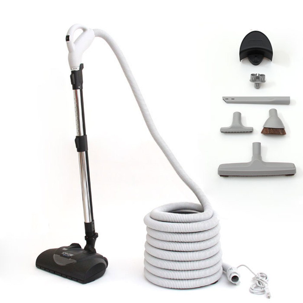 Thick Carpet Central Vacuum Attachment Package