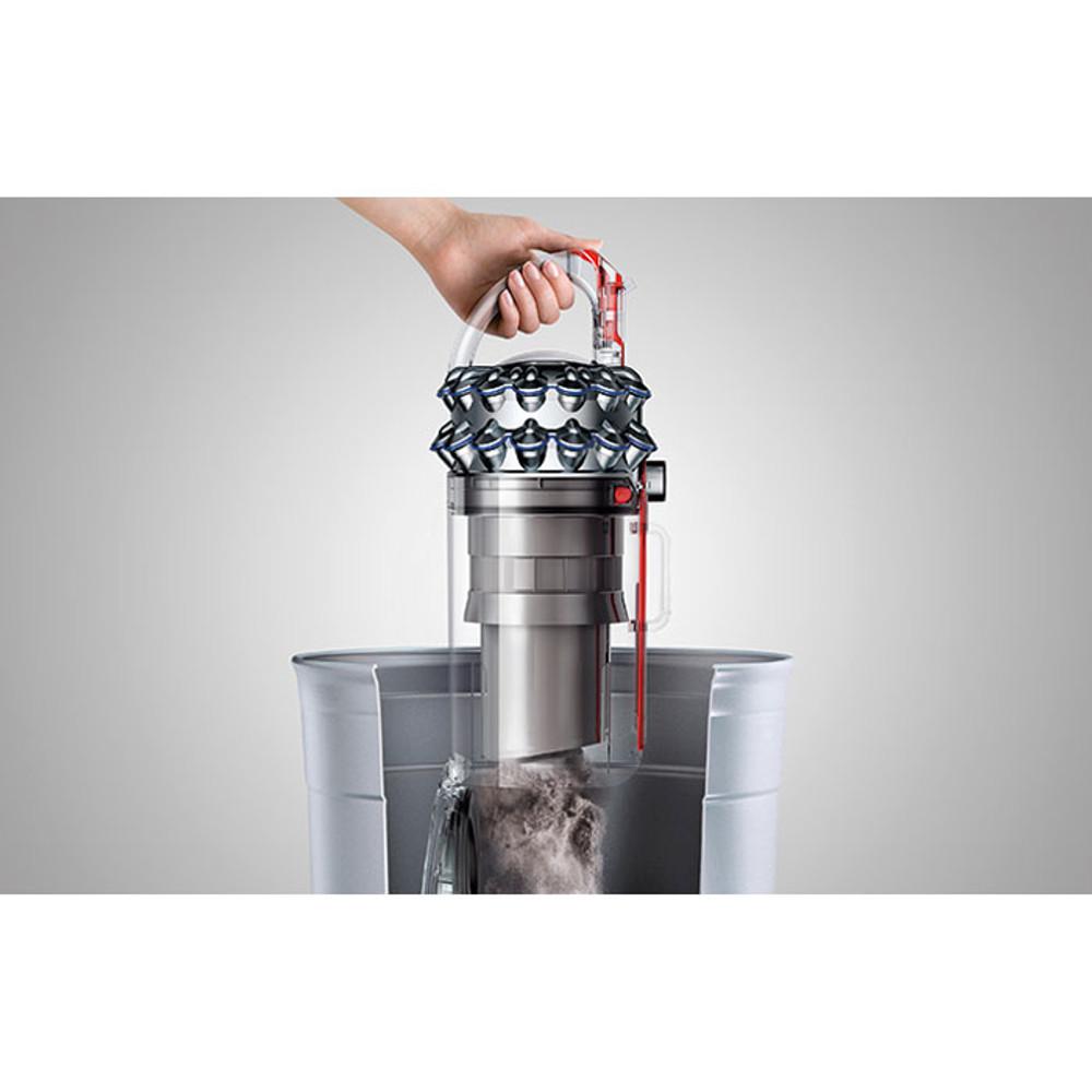 One-touch hygienic bin emptying