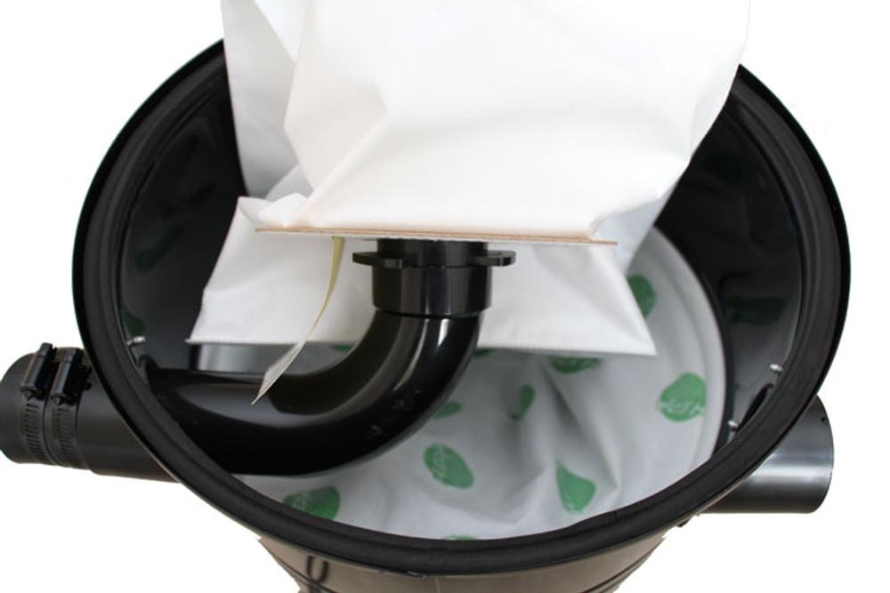 Vacuum Bag Installed