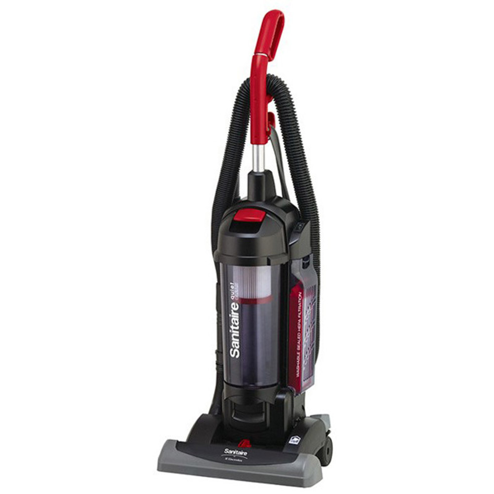 Commercial Upright Vacuum Cleaner Sanitaire SC5845B QuiteClean Bagless Commercia