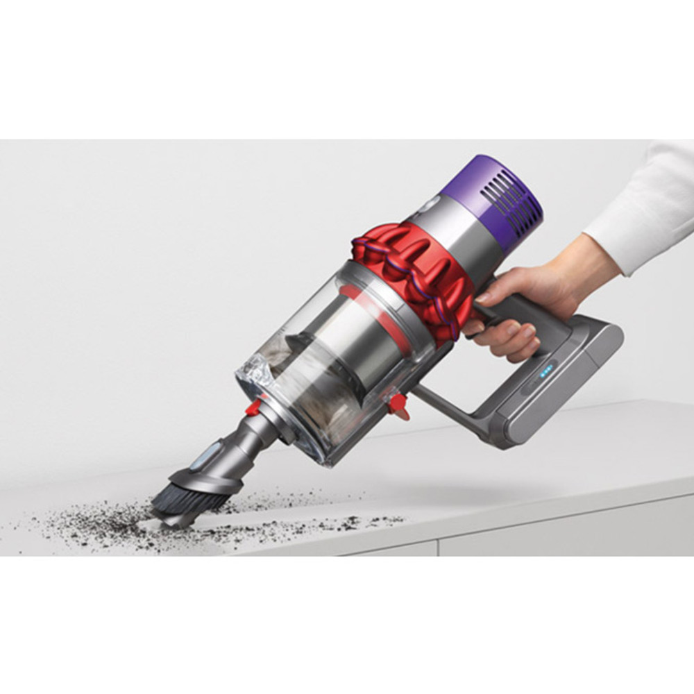 Dyson V10 Cordless as a Handheld