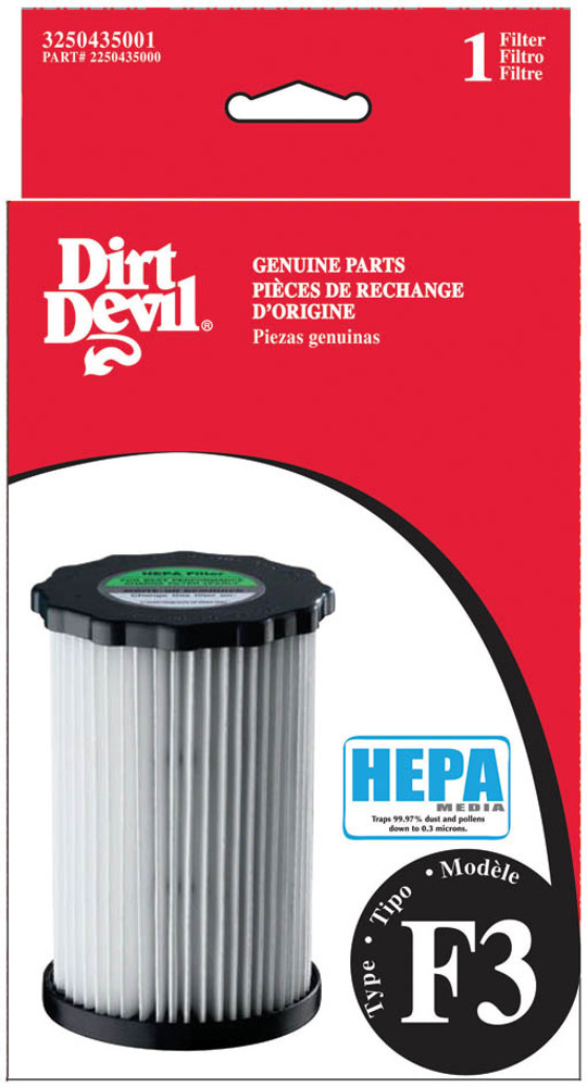 Dirt Devil F3 HEPA Filter - Box