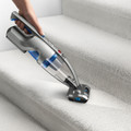 Mini motorized powerhead for cleaning stairs and upholstery