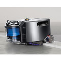 Tank style tracks allows the Dyson 360 Eye to easily go over thresholds
