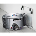 Docking Station for Dyson Robot Vacuum Cleaner - Docking station is white in colour, not clear