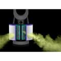 Vacuum-sealed glass HEPA filter.