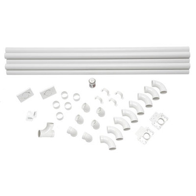 Central Vacuum Installation Kit - 2 Inlets