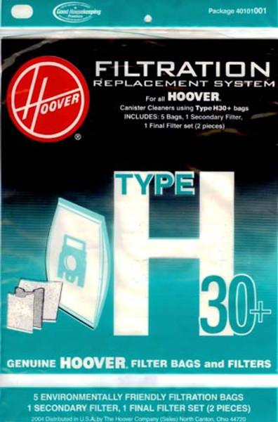 Hoover Type H30 Vacuum Bags
