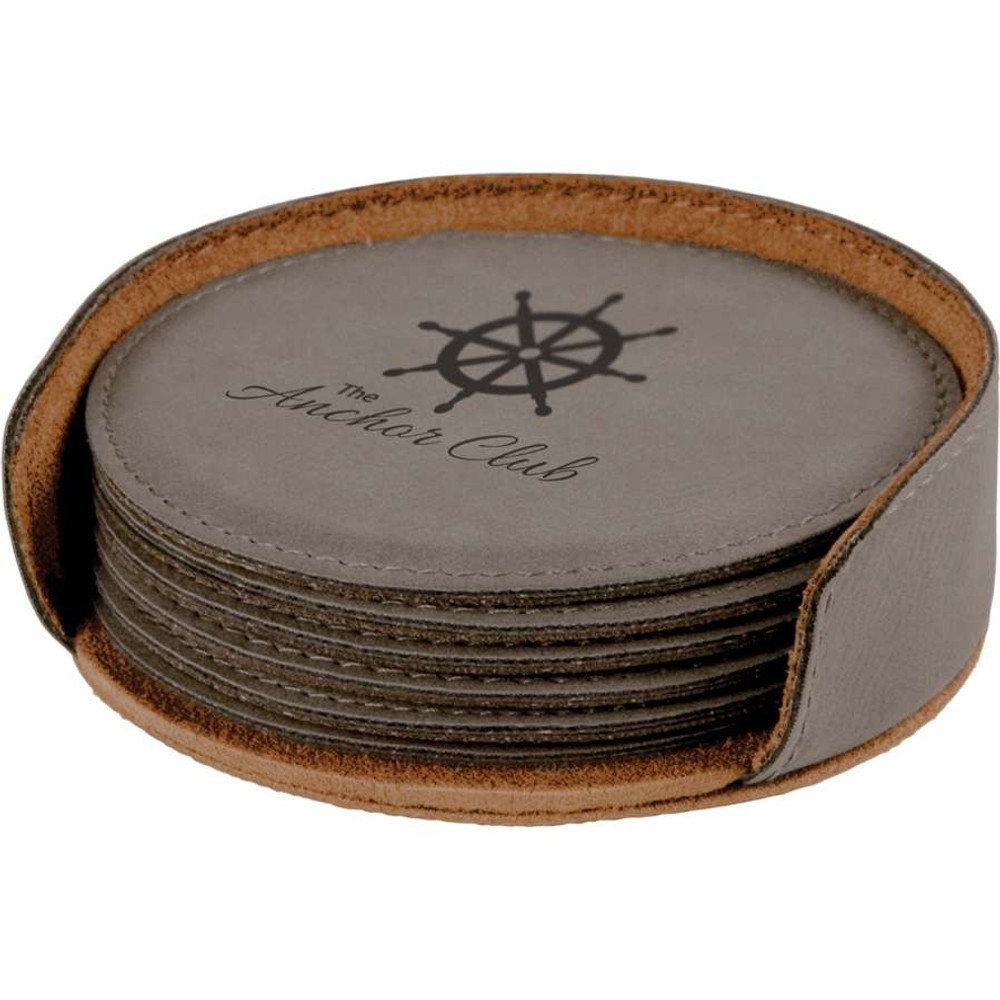 Grey Anchor coasters look fantastic on your boat.