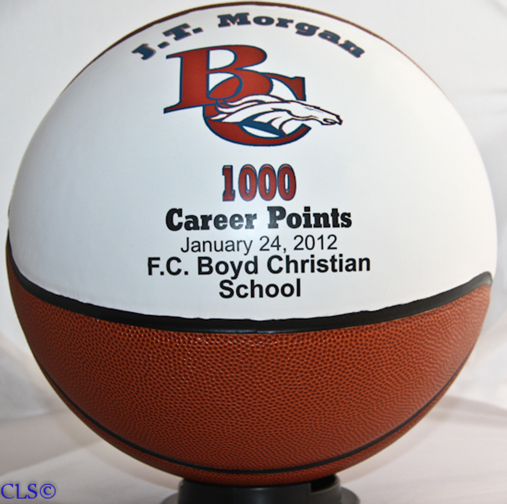 Personalized Hall Of Fame Basketball Creative Laser