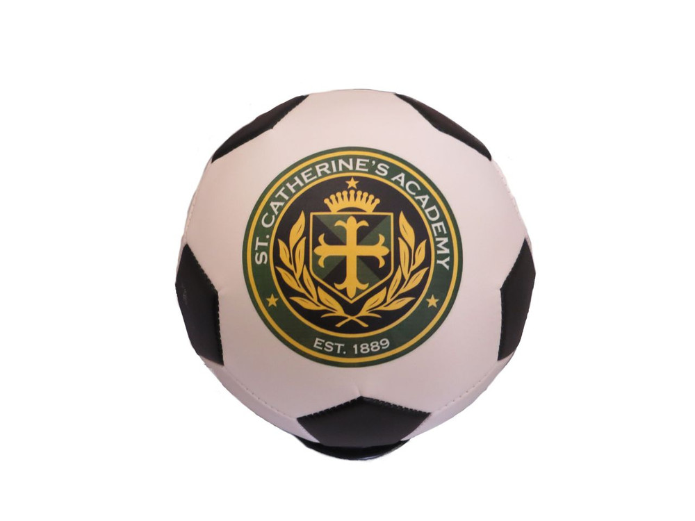 Create a unique soccer ball with your school logo and give to your favorite teacher at the end of the year!