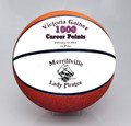 Custom 1000 Career Point Basketball.