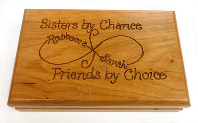 Personalized Playing Card Holder is a great gift for your card playing partner's,  sister, grandma or other family member.