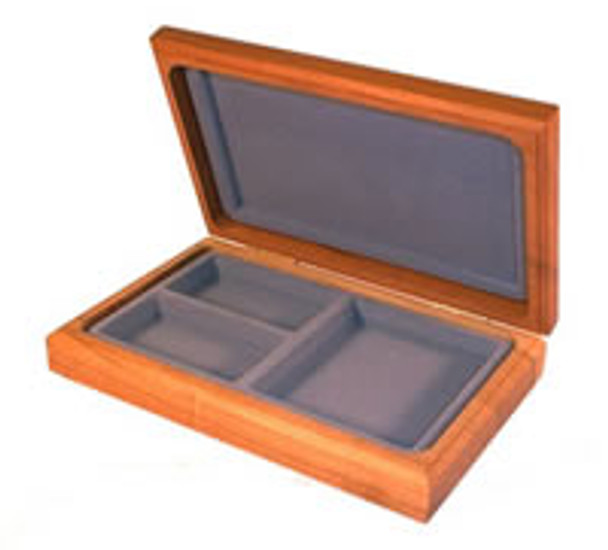 Perfect gift idea for any women who has jewelry, or any man who wants to store his watch, coins, rings, etc in style. Personalize this box laser engraved with a name, logo, or design.