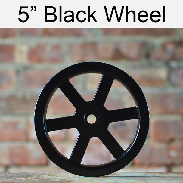 Black Barn Door Wheel