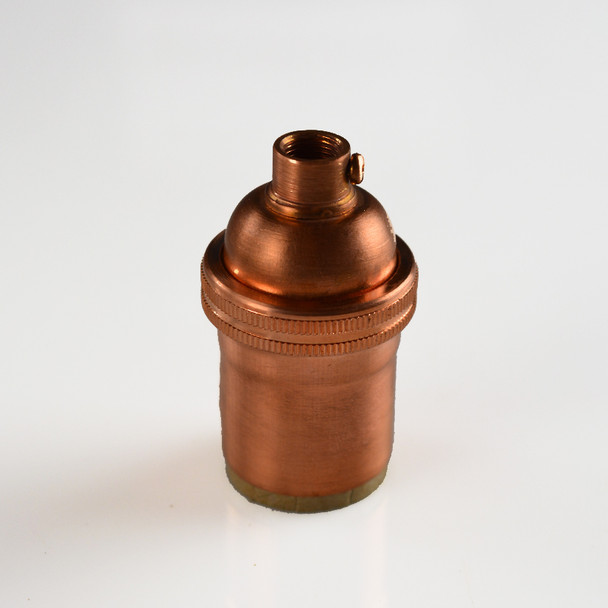 Keyless solid copper socket