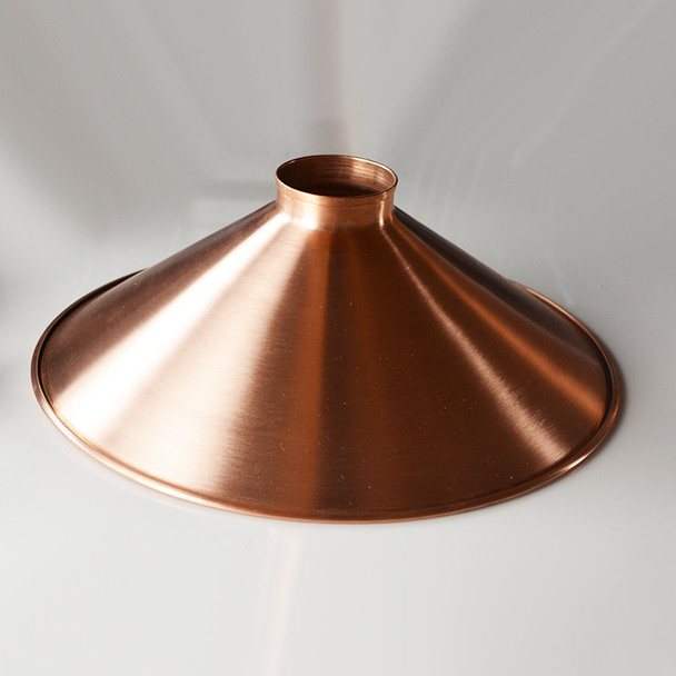 """16"""" unfinished copper shade"""