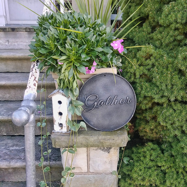 Gather Outdoor Sign