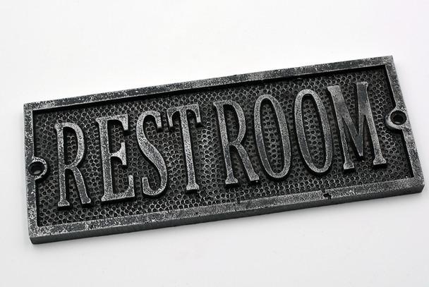 Restroom Plaque