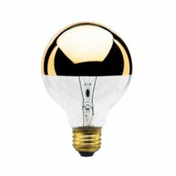 Half GOLD G-25 Bulb - Globe Style