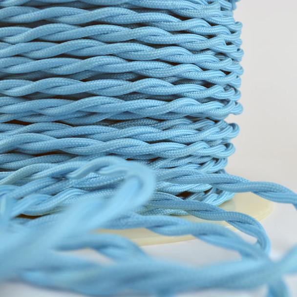 Sky Blue Cloth WIre