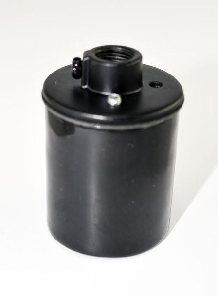 Black Porcelain Light Socket