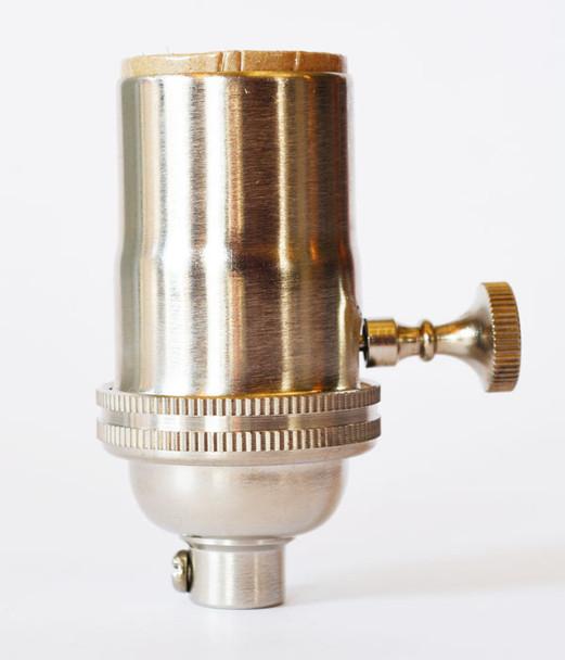 Light Socket Satin Nickel