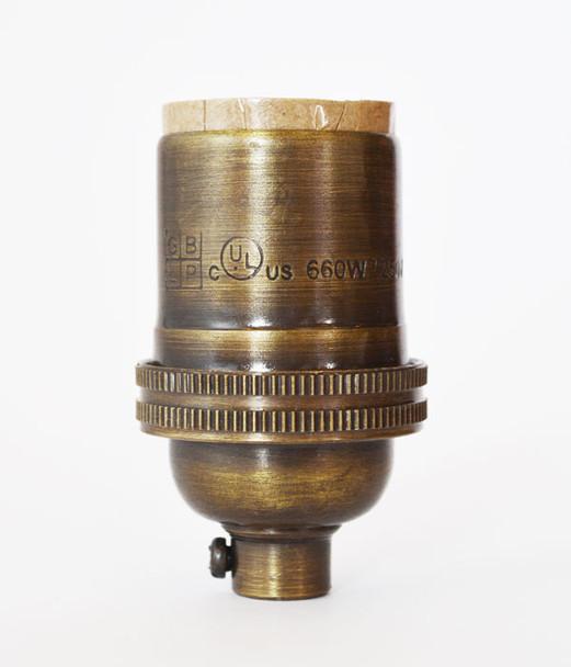 Antique Brass Lamp Socket
