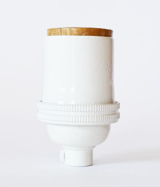 White Lamp Socket