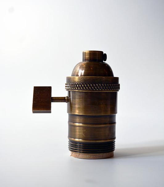 Antique Brass uno Socket