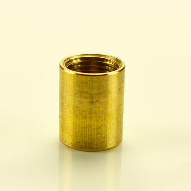 Solid Brass Coupling 1/8 IPS
