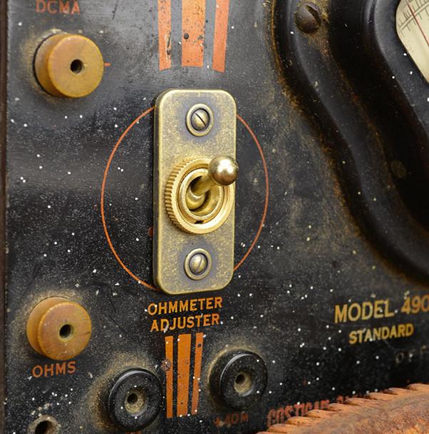 Steampunk Meter Switch