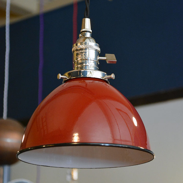 Red Dome Shade