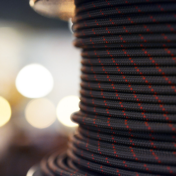 Brown single conductor wire