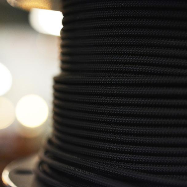 Black single conductor wire