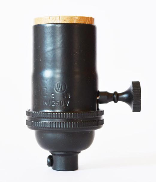 Light Socket Black