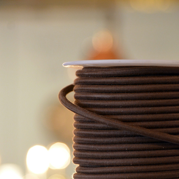 Brown Cotton Cloth-Covered Wire
