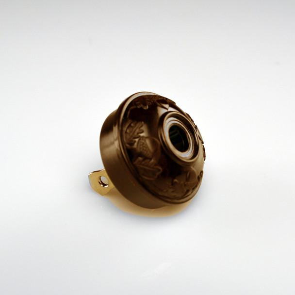 Antique Acorn Plug Brown