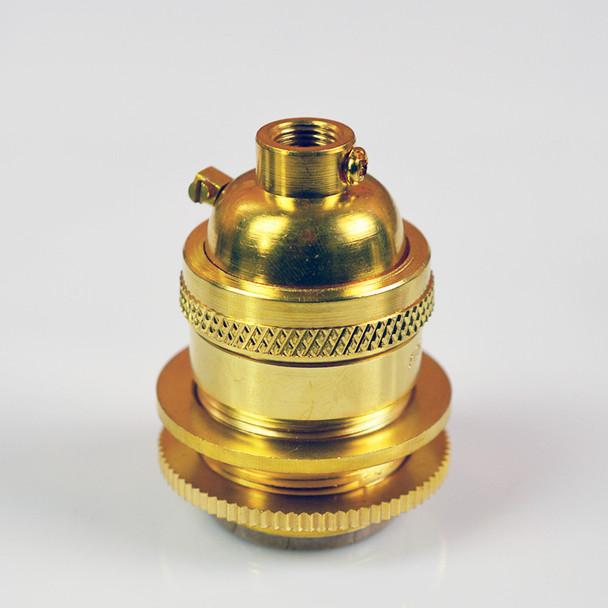 Unfinished Brass Socket