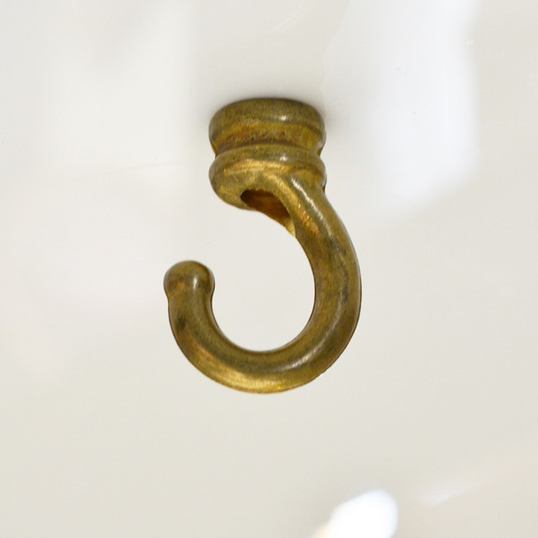 Solid Brass Ceiling Hook