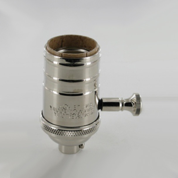 Dimmer Socket - Polished Nickel