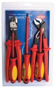 5 PC. Automotive Pliers/Screwdriver Insulated Tool Set