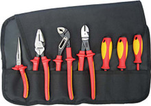 7 PC. Pliers/Screwdriver Insulated Tool Set 2