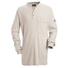 Bulwark® Long Sleeve Tagless Henley Shirt HRC2