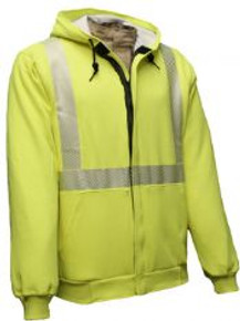 NSA FR Hi-Vis Hooded /Zip Sweatshirt